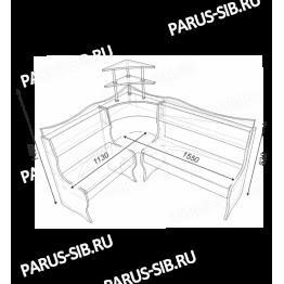 Кухонный диван Олимп