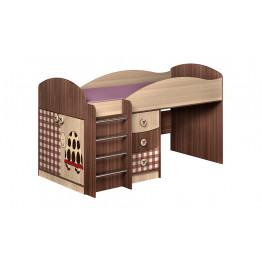 Кровать со столом Алиса