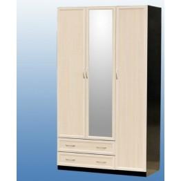 Шкаф 3-дв с 1мал.зеркалом