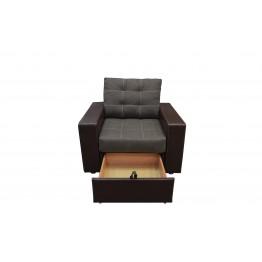 КРЕСЛО к дивану «УГЛОВОМУ» (с выдвижным ящиком)